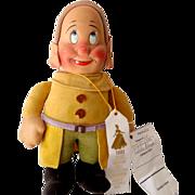 1930s Krueger Disney Dwarf Dopey Doll Snow White