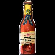 Tin Litho Advertising Bottle Opener Pabst Blue Ribbon Beer