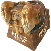 1950s Piel's Beer METAL Store Display