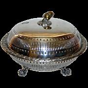 SALE Pair Mixed Metals Antique Bowls by Elkington 1889