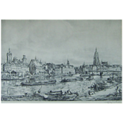 REDUCED Wolfgang Tritt (1913-1983) Listed Artist Superb Etching