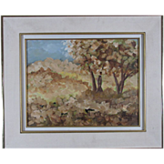 REDUCED Pierre Cossette Lovely Landscape Oil Painting by Canadian Artist