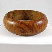 REDUCED Wonderful Wooden Bangle Bracelet