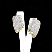 REDUCED Dazzling Vintage Rhinestone Earrings