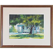 Tom Lynch Incredible Watercolor by the Well Listed Artist