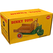 SOLD Dinky Toys Motocart #342, Boxed