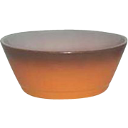 Fire-King Anchor Hocking  Orange  Cereal bowls