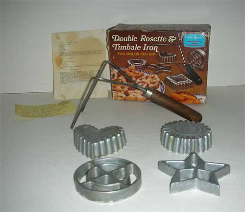 Nordic Ware Double Rosette & Timbale Iron