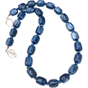 SALE Blue Kyanite Necklace