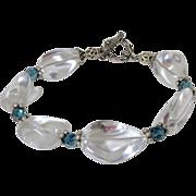 REDUCED Rock Quartz Crystal Nugget Bracelet