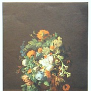 Floral Print - Vintage Classical Print