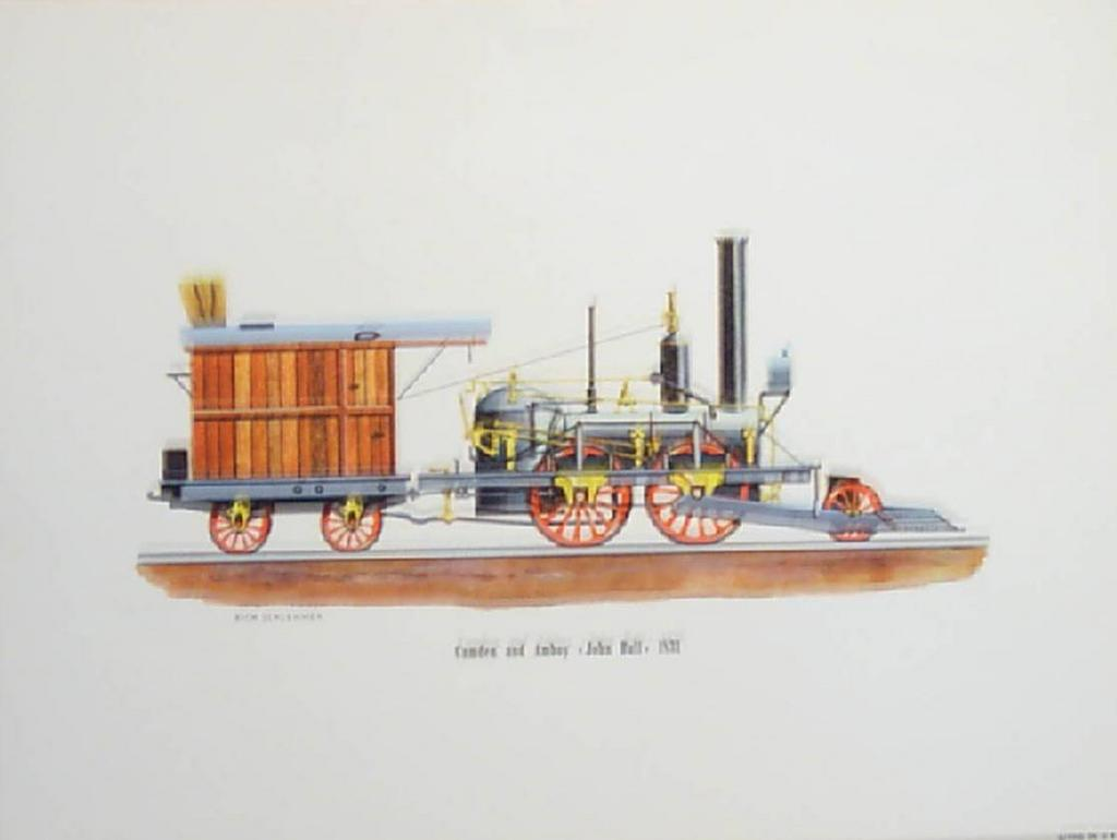 0353 for Vintage train posters