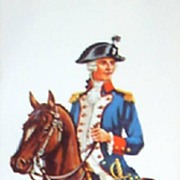Collection of Vintage Soldier Prints by Frederick Elmiger