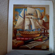 Ship Model by Charles Cerny
