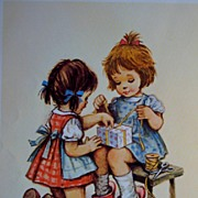 Children's Prints-Portfolio of Three Babies