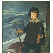 Velazquez Prince Baltasar Art Detail