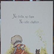 Holly Hobbie Greeting Cards-Vintage