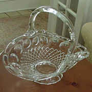 Crystal Basket-Vase-Bowl