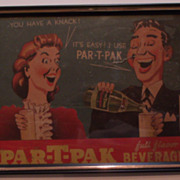Par-T-Pac Advertisement Sign