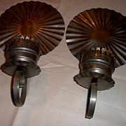 Wall Sconces in Tin