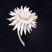 Exquisite Boucher Flower Pin/Brooch