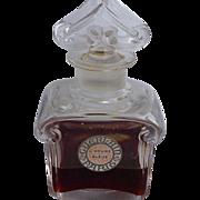Guerlain Paris L'Heuere Bleue 1912 Baccarat Bottle