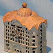 Cast iron bank building still bank