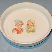Ironstone Baby or  Child's Feeding Dish Germany