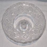 """REDUCED Pedestal Cake Stand  """"Grand"""" Pattern"""