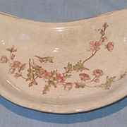 Burford Brothers Coral China Bone Dish