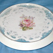 Luster Decorated China Trivet
