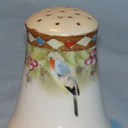 Hand painted Nippon shaker