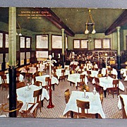 1911 Chromolithograph Post Card Union Dairy Cafe St. Louis Mo.
