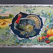1910 Thanksgiving Greetings Printed in Germany