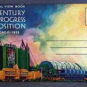 SOLD 1933 Chicago Century of Progress Exposition Official View Book - Red Tag Sale Item