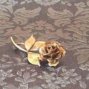 HSB 1/20 12K Gold Filled rose pin