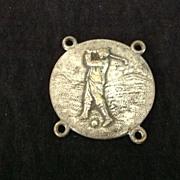 Vintage golf medal