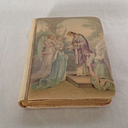 1930's Jesus Come to Me Catholic prayer book with Celluloid cover and Crucifix