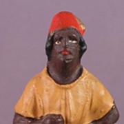 Blackamoor Figurine Handpainted Germany