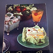 "SOLD 1940 ""Your Frigidaire Recipes"" - Red Tag Sale Item"