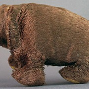 Occupied Japan Mechanical Wind-up Walking Brown Bear