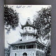 Real Photo Post Card 1907 Undivided Back Pagoda Garfield Park, Chicago