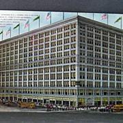 Unused Chromolithograph Postcard  The Fair Chicago