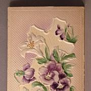 Unused Postcard Joyful Easter Made in Germany