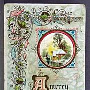 Winsch Christmas Postcard