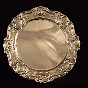 Towle Old Master Repousse Silverplate Plate