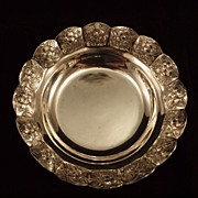 Sanborns of Mexico Sterling Silver Aztec Rose Bowl