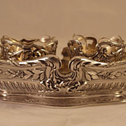 SALE Very Rare Cardeilhac Sterling Silver Condiment Server