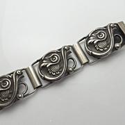 Antique Dutch Sterling Silver Bracelet