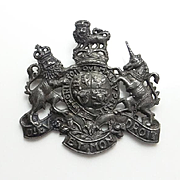 Vintage Sterling Silver Stieff Coat of Arms Pins Lions Unicorn !
